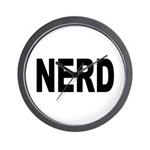 Nerd Wall Clock