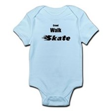 crawl walk skate Infant Bodysuit