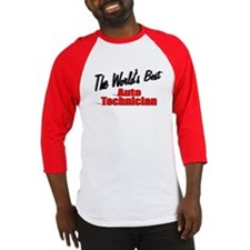 """The World's Best Auto Technician"" Baseball Jersey"