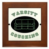 Varsity Couching Framed Tile
