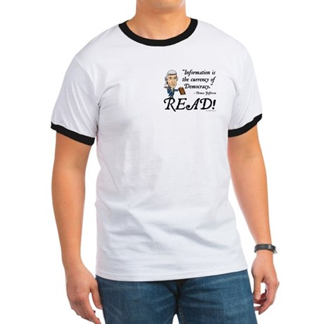 Thomas Jefferson - Read!  Ringer T