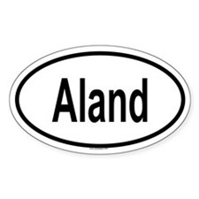 ALAND Oval Decal