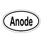ANODE Oval Decal