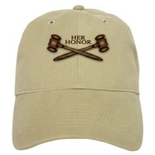 Her Honor Baseball Cap - Khaki