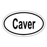 CAVER Oval Decal