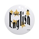English Keepsake (Round)