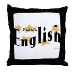 English Throw Pillow