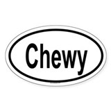 CHEWY Oval Decal