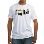 English Fitted T-Shirt