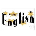 English Postcards (Package of 8)