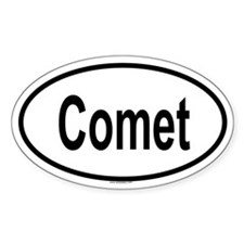 COMET Oval Decal
