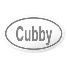 CUBBY Oval Decal