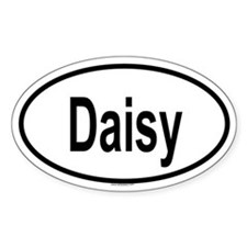 DAISY Oval Decal