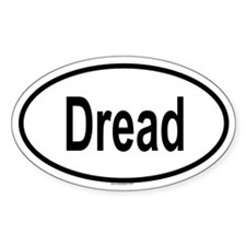 DREAD Oval Decal