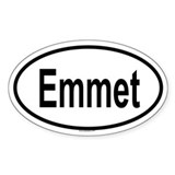 EMMET Oval Decal