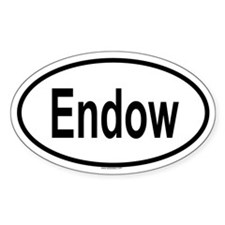 ENDOW Oval Decal