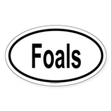 FOALS Oval Decal