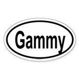 GAMMY Oval Decal