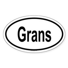 GRANS Oval Decal