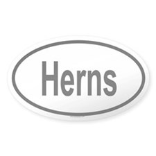 HERNS Oval Decal
