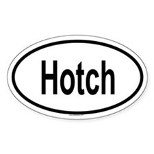 HOTCH Oval Decal