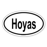 HOYAS Oval Decal