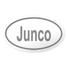 JUNCO Oval Decal