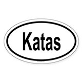 KATAS Oval Decal
