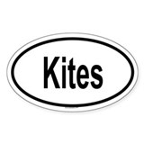 KITES Oval Decal