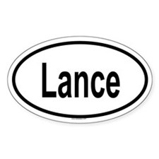LANCE Oval Decal