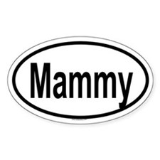 MAMMY Oval Decal