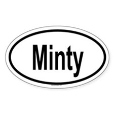 MINTY Oval Decal