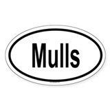 MULLS Oval Decal