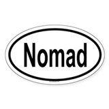 NOMAD Oval Decal