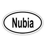 NUBIA Oval Decal