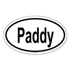 PADDY Oval Decal