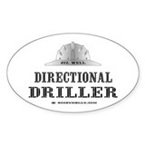 Dir. Driller Oval Decal