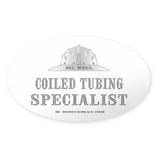 Coiled Tubing Spst. Oval Decal