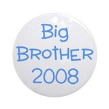 Big Brother 2008 blue Ornament (Round)