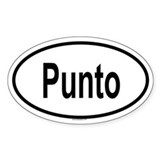 PUNTO Oval Decal