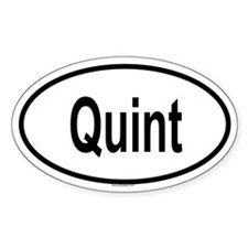 QUINT Oval Decal