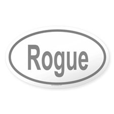 ROGUE Oval Decal