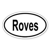 ROVES Oval Decal