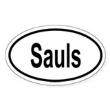 SAULS Oval Decal