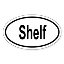 SHELF Oval Decal