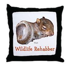 Wildlife Rehab Throw Pillow