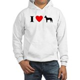 I Heart Carolina Dog Hoodie