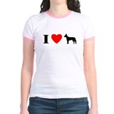 I Heart Carolina Dog T