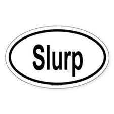 SLURP Oval Decal