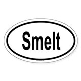 SMELT Oval Decal
